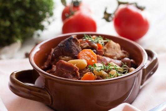 Greek Pork and Beans